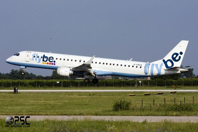 Embraer 190/195 - MSN 57 - G-FBEB  @ Aeroporto di Verona © Piti Spotter Club Verona
