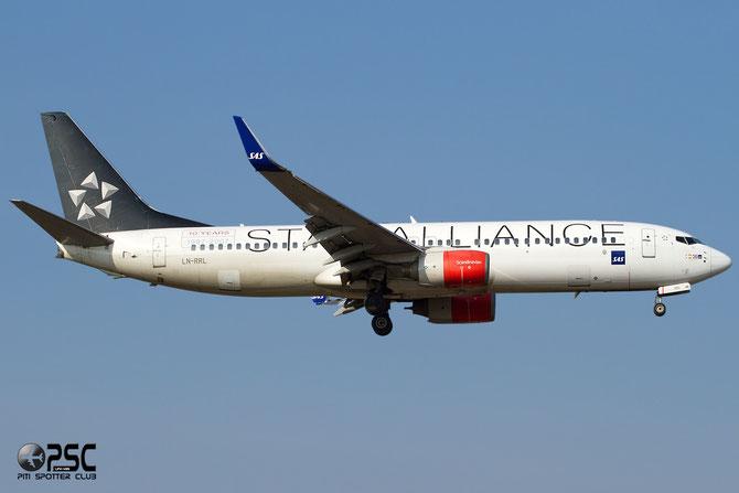 LN-RRL B737-883 28328/1424 SAS Scandinavian Airlines - Scandinavian Airlines System