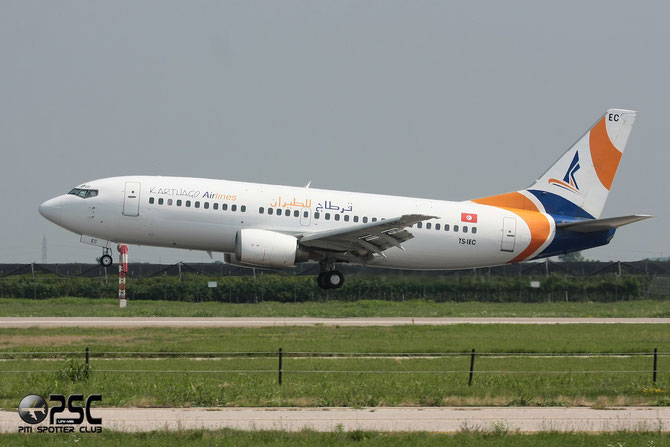 TS-IEC B737-33A 25010/2008 Karthago Airlines