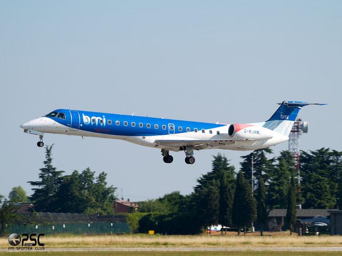 Embraer 135/145 - MSN 216 - G-RJXM  @ Aeroporto di Verona © Piti Spotter Club Verona