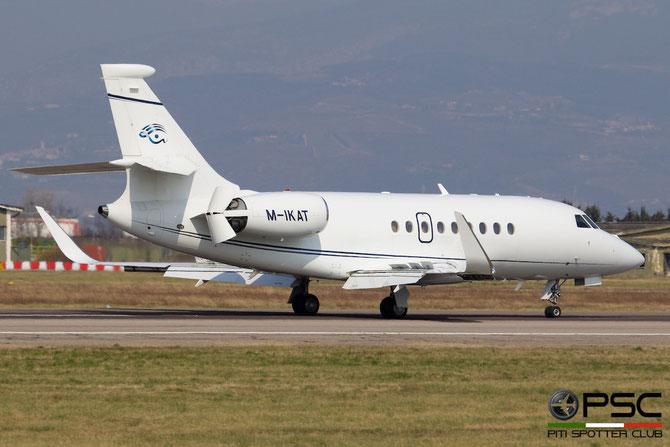 M-IKAT Falcon 2000LX 220 F2000 LX Ltd. @ Aeroporto di Verona © Piti Spotter Club Verona