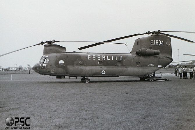 MM80826 E.I.804 CH-47C (ETM-1) M005 11° Gruppo Sqd