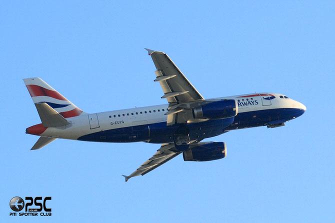 Airbus A319 - MSN 1222 - G-EUPG @ Aeroporto di Verona © Piti Spotter Club Verona