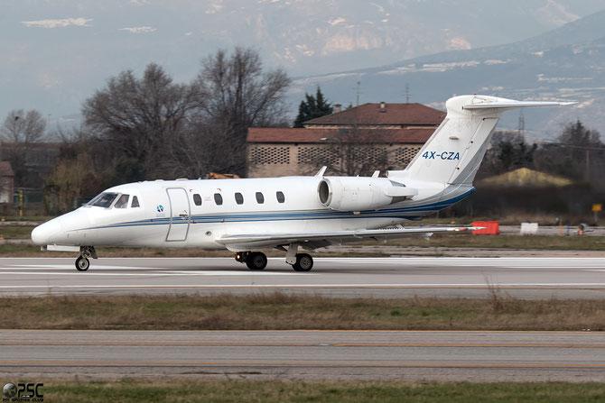 4X-CZA Ce650 650-0187 Gesher Aviri Co. @ Aeroporto di Verona © Piti Spotter Club Verona