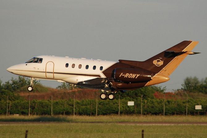 I-RONY BAe125-800XP 258506 Alba Servizi Aerotrasporti