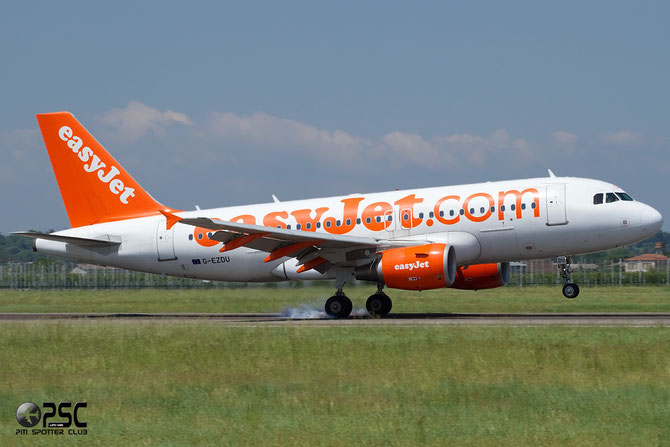 Airbus A319 - MSN 3735 - G-EZDU @ Aeroporto di Verona © Piti Spotter Club Verona