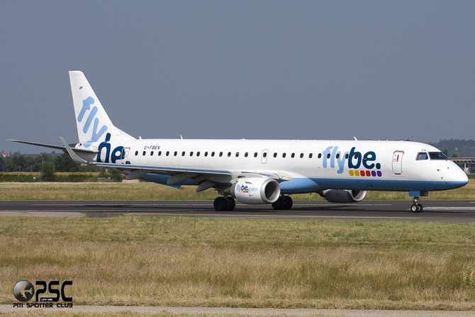 Embraer 190/195 - MSN 213 - G-FBEN  @ Aeroporto di Verona © Piti Spotter Club Verona