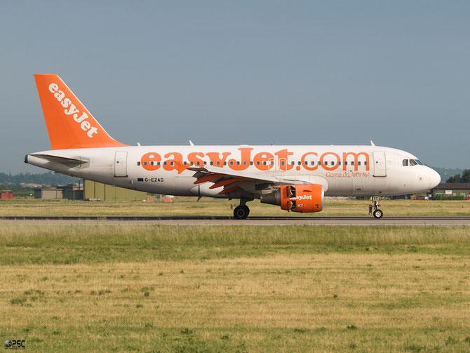 Airbus A319 - MSN 2727 - G-EZAG @ Aeroporto di Verona © Piti Spotter Club Verona