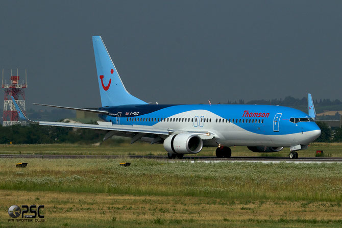 G-FDZZ B737-8K5 37262/3876 Thomson Airways