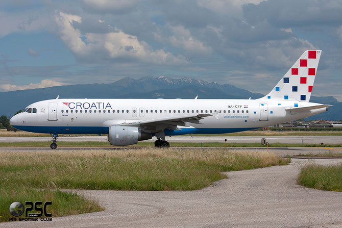9A-CTF A320-212 258 Croatia Airlines