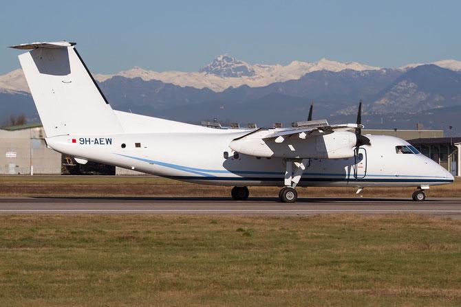 9H-AEW DHC-8-102 222 Medavia - Mediterranean Aviation Company @ Aeroporto di Verona © Piti Spotter Club Verona