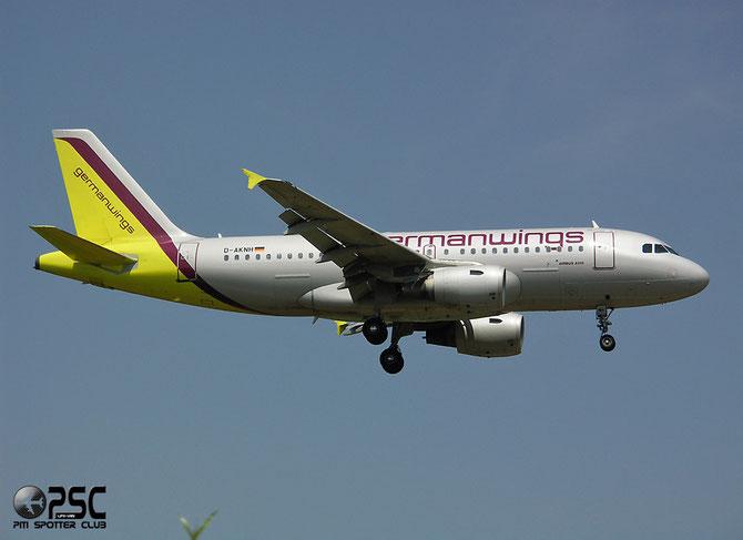 Airbus A319 - MSN 794 - D-AKNH  @ Aeroporto di Verona © Piti Spotter Club Verona
