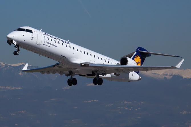 Canadair Regional Jet - MSN 10080 - D-ACPM  @ Aeroporto di Verona © Piti Spotter Club Verona