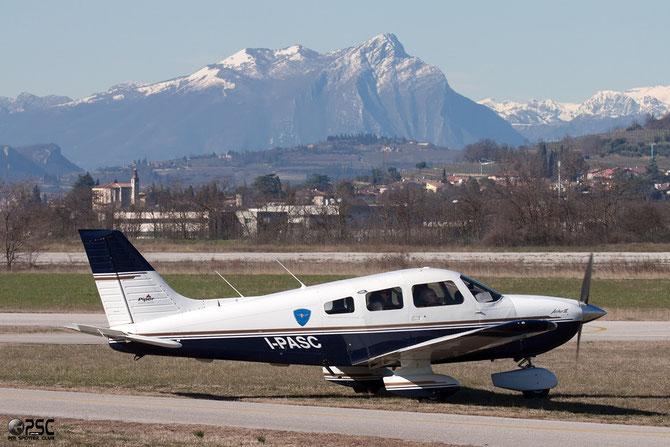 I-PASC Piper PA-28-181 Archer III @ Aeroporto Verona Boscomantico © Piti Spotter Club Verona