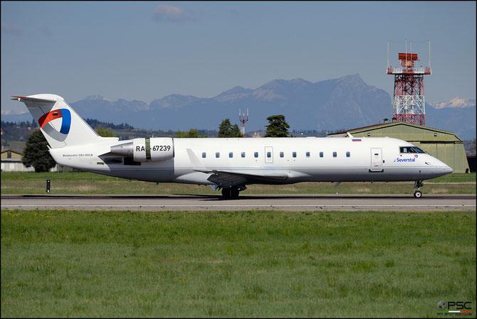 RA-67239 CRJ200LR 7989 Severstal @ Aeroporto di Verona © Piti Spotter Club Verona