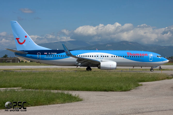 Boeing 737 Next Gen - MSN 37249 - G-TAWM  @ Aeroporto di Verona © Piti Spotter Club Verona