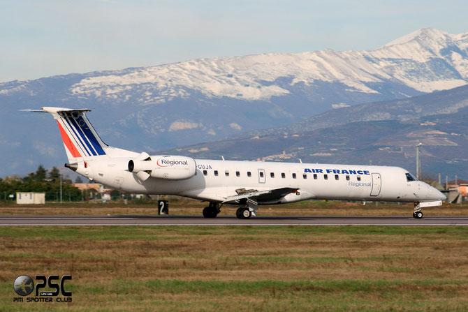 Embraer 135/145 - MSN 407 -  F-GUJA @ Aeroporto di Verona © Piti Spotter Club Verona