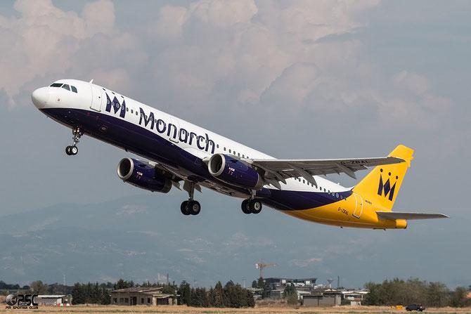 G-ZBAL A321-231 3522 Monarch Airlines @ Aeroporto di Verona © Piti Spotter Club Verona