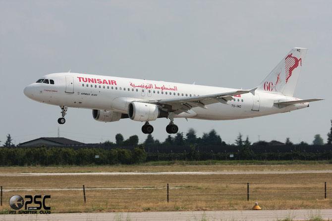 TS-IMC A320-211 124 Tunis Air @ Aeroporto di Verona © Piti Spotter Club Verona