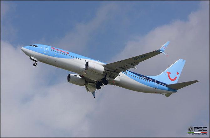G-FDZT B737-8K5 37248/3532 Thomson Airways @ Aeroporto di Verona © Piti Spotter Club Verona