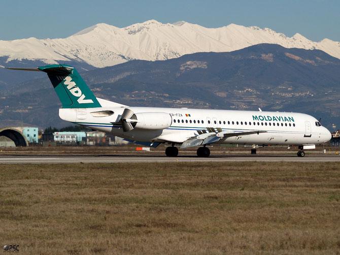 ER-FZA Fokker 100 11395 Moldavian Airlines