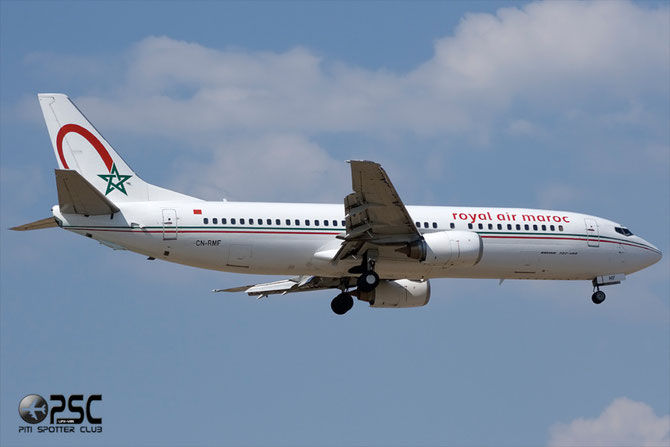 CN-RMF B737-4B6 24807/1880 Royal Air Maroc