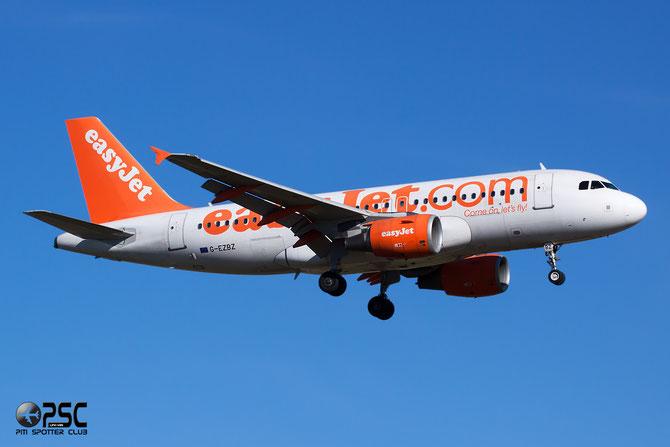 Airbus A319 - MSN 3184 - G-EZBZ   @ Aeroporto di Verona © Piti Spotter Club Verona