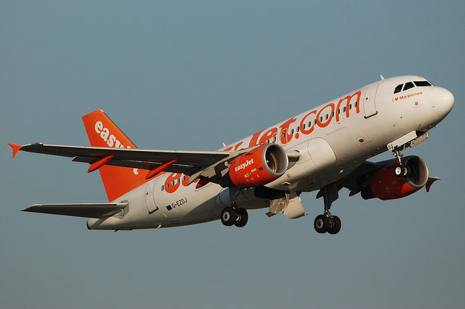 G-EZDJ A319-111 3544 EasyJet Airline