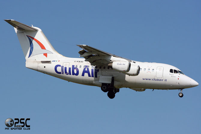 I-FASI BAe146-RJ70 E1260 Club Air (Italy)