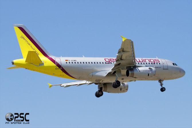 Airbus A319 - MSN 2833 - D-AGWB @ Aeroporto di Verona © Piti Spotter Club Verona