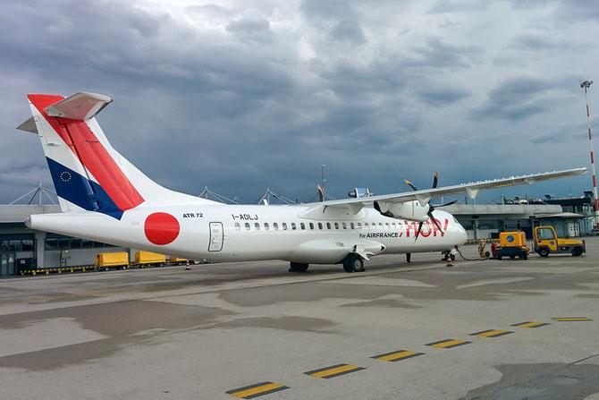 F-GVZV - ATR 42/72 - MSN 686 - F-GVZV  (still with Air Dolomiti registration - I-ADLJ)