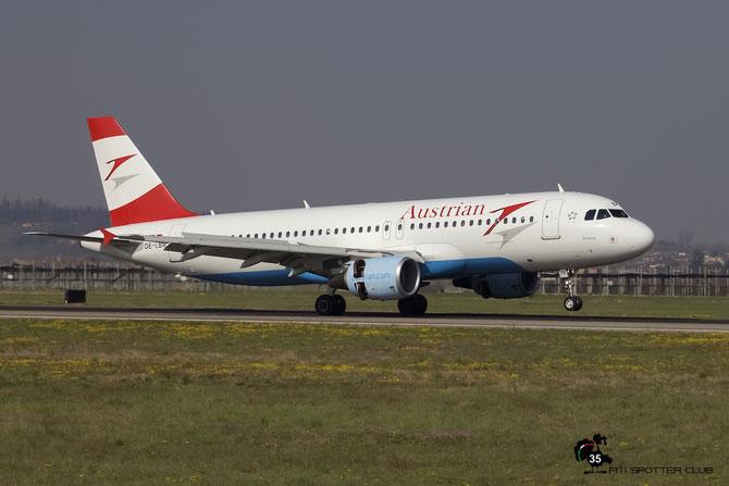 OE-LBM A320-214 1504 Austrian Airlines @ Aeroporto di Verona - 2016 © Piti Spotter Club Verona