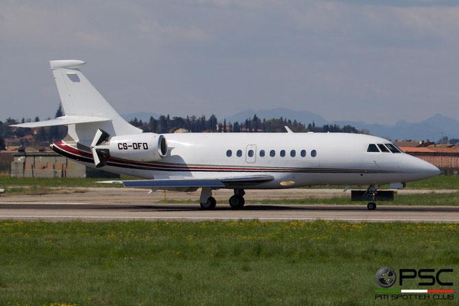 CS-DFD Falcon 2000 174 NetJets Europe @ Aeroporto di Verona © Piti Spotter Club Verona