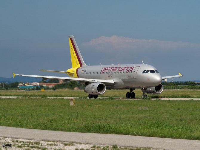Airbus A319 - MSN 3375 - D-AGWJ  @ Aeroporto di Verona © Piti Spotter Club Verona