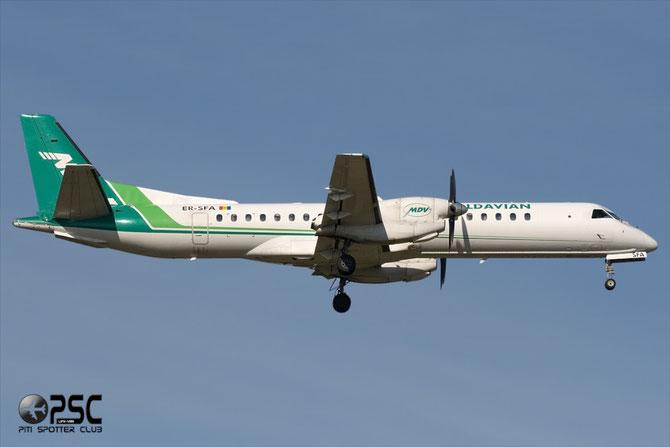 ER-SFA Saab 2000 2000-056 Moldavian Airlines