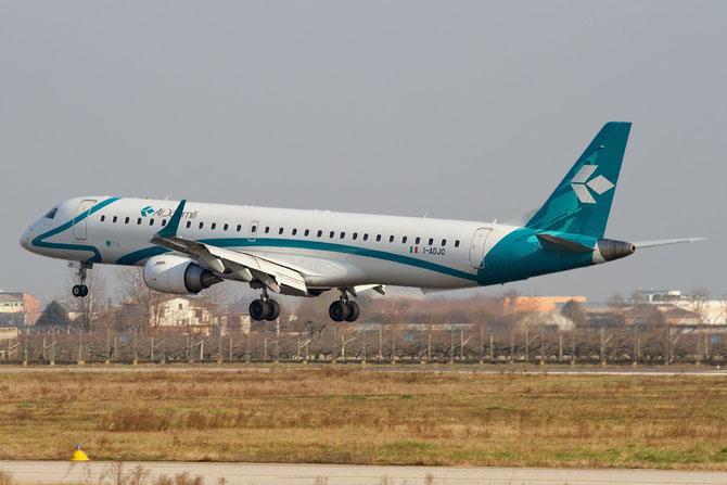Embraer 190/195 - MSN 280 - I-ADJO @ Aeroporto di Verona © Piti Spotter Club Verona