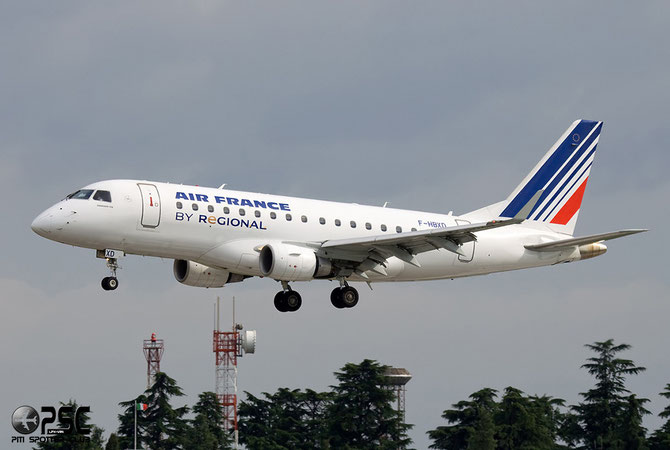 Embraer 170/175 - MSN 281 - F-HBXD (Air France Regional CAE livery) @ Aeroporto di Verona © Piti Spotter Club Verona