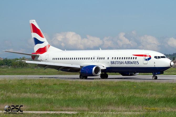 Boeing 737 - MSN 25860 - G-GBTB @ Aeroporto di Verona © Piti Spotter Club Verona