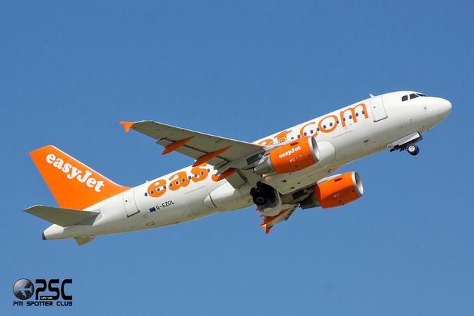 Airbus A319 - MSN 3569 - G-EZDL @ Aeroporto di Verona © Piti Spotter Club Verona