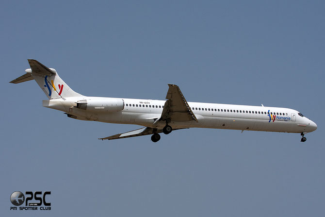 YR-OTY MD-83 49950/1913 Fly Romania opb Ten Air