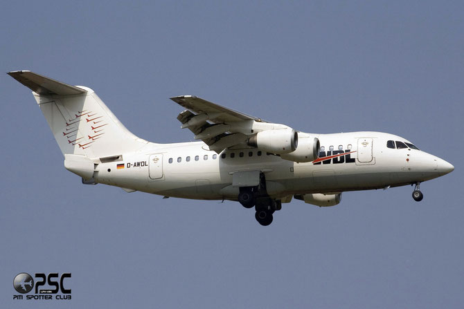 D-AWDL BAe146-100 E1011 WDL Aviation @ Aeroporto di Verona © Piti Spotter Club Verona