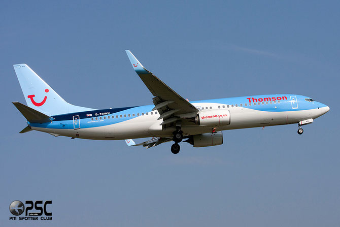 Boeing 737 Next Gen - MSN 37239 - G-TAWK  @ Aeroporto di Verona © Piti Spotter Club Verona