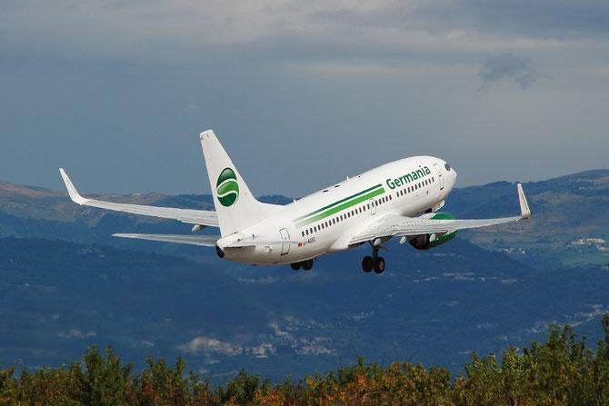 D-AGEL B737-75B 28110/5 Germania Flug @ Aeroporto di Verona © Piti Spotter Club Verona