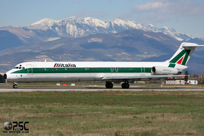 McDonnell Douglas MD-80/90 - MSN 49206 -  I-DAWP @ Aeroporto di Verona © Piti Spotter Club Verona
