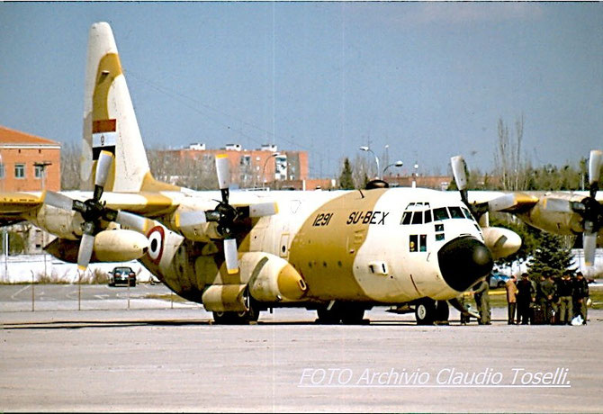 SU-BEX - Lockheed C-130 (L56) Hercules Egyptian Air Force - CN 1291.