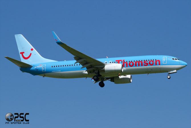 Boeing 737 Next Gen - MSN 35147 - G-FDZS  @ Aeroporto di Verona © Piti Spotter Club Verona