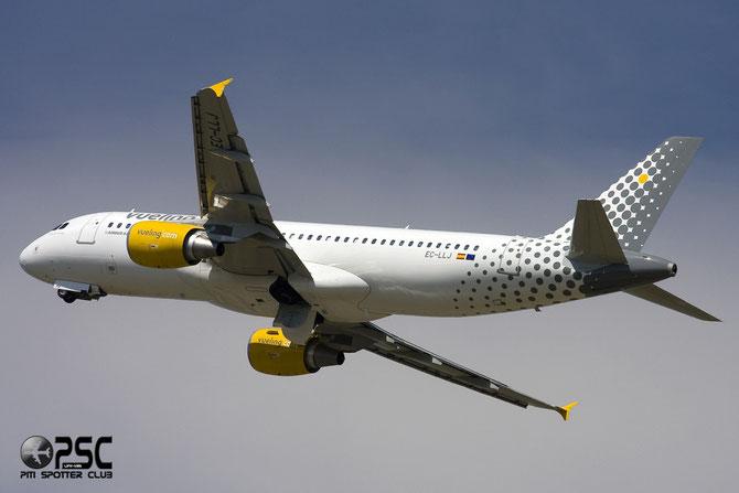 Airbus A320 - MSN 4661 - EC-LLJ @ Aeroporto di Verona © Piti Spotter Club Verona