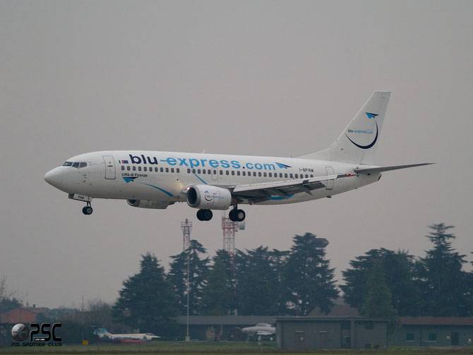 Boeing 737 - MSN 24909 - I-BPAM @ Aeroporto di Verona © Piti Spotter Club Verona