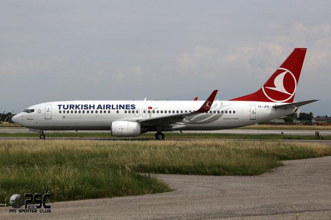 TC-JFR B737-8F2 29779/370 THY Turkish Airlines - Türk Hava Yollari @ Aeroporto di Verona © Piti Spotter Club Verona