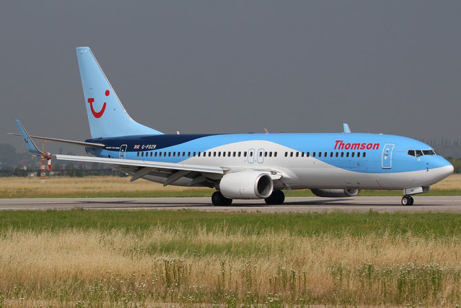 G-FDZR B737-8K5 35145/2849 Thomson Airways